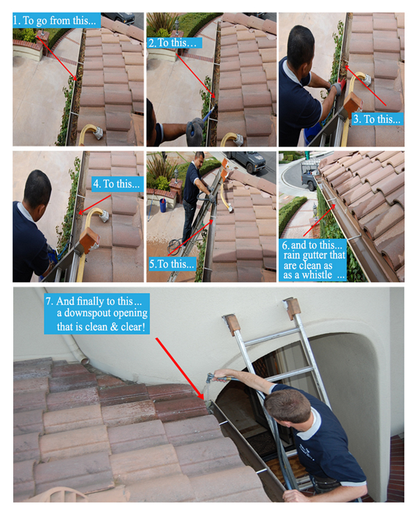 best affordable rain gutter cleaning service in rancho santa margarita